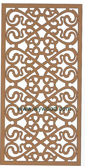 Carved Decorative Panel (WY-3)