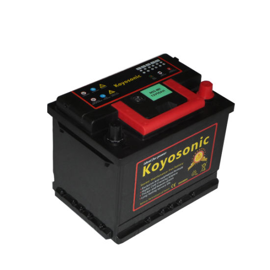 Battery Car 12V 75ah Mf Aumotive Battery Calcium Battery N70zl Car Battery