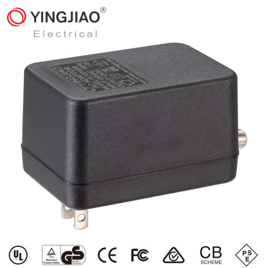 Manufacturers Yingjiao&OEM 3-7W Us Plug Linear Power Adapters