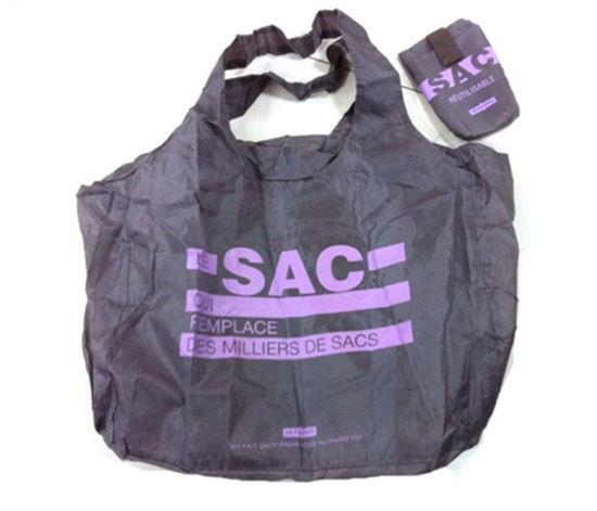 Cheap Pattem Printing Handled Folding Shopping Bag