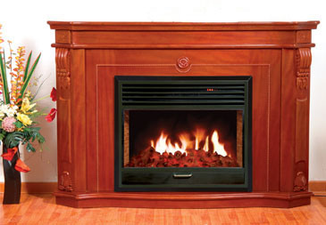 CE Approved European Electric Fireplace (006-200) pictures & photos
