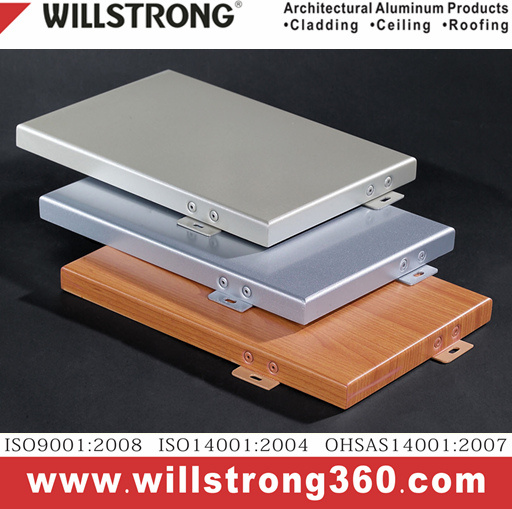 Aluminum Veneer for Ceiling Material Architectural Facades Panels Canopy Ceiling Signage Ventilated Facades pictures & photos