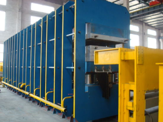 Fabric Conveyor Belt Vulcanizing Press/ Hydraulic Press pictures & photos