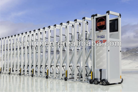 6063-T5 Aluminum Alloy Access Control Gate with 10 Years Warranty Motor