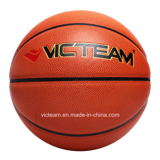Genuine PU Leather Basketball Ball Official Size 7 pictures & photos