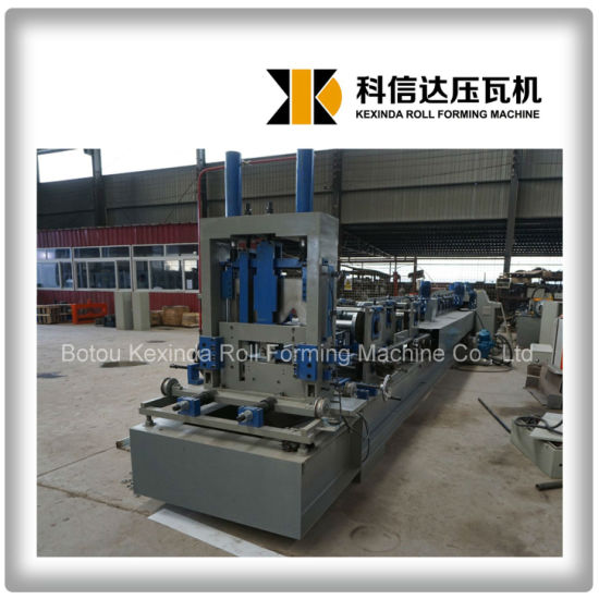 Kxd C Z Purlin Cold Roll Forming C Channel Making Machine