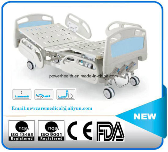 Manufacturer Sale Manual Two Crank Hospital Bed Medical Equipment pictures & photos