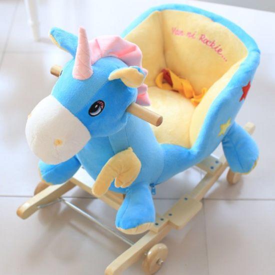 China Stuffed Animal Rocking Horse Toys Rocking Chair China Wooden