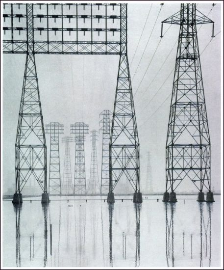 Power Transmission Lattice Steel Tower