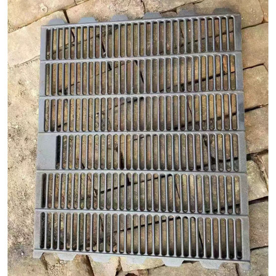 Factory Price Cast Iron Pig Flooring for Farrowing Crate