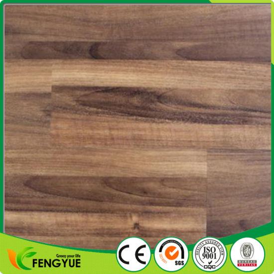 China Anti Slip Dry Backing Plastic Pvc Click Lock Vinyl Flooring
