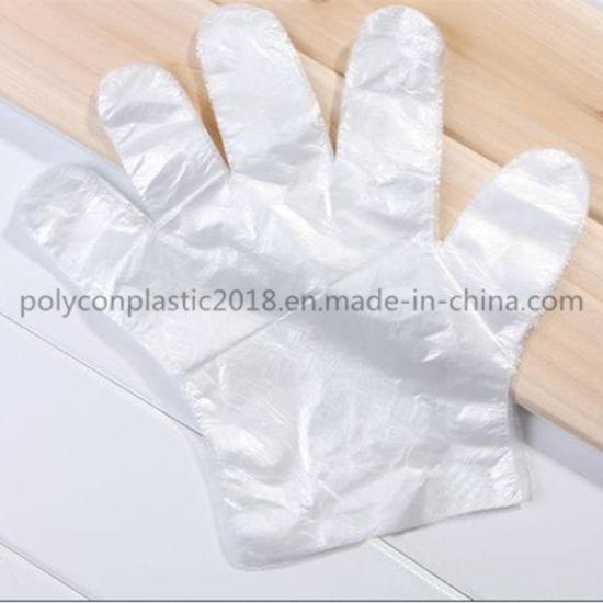Disposable Food BBQ Plastic PE Gloves