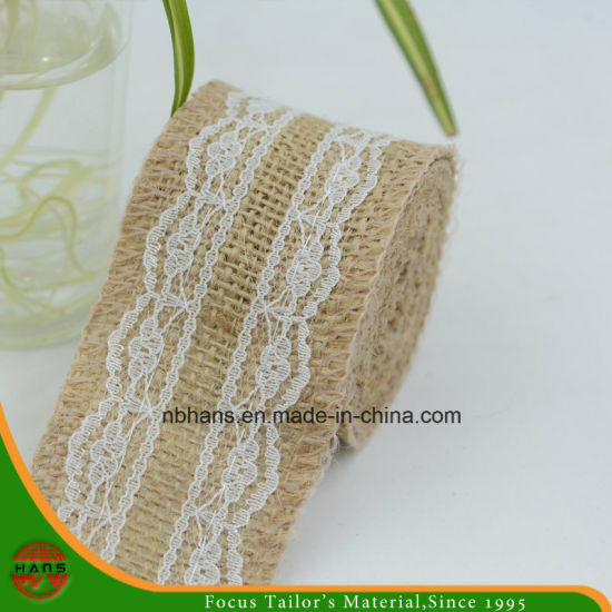 Hans Customized Strong Jute Tape for Lace Gift Packing