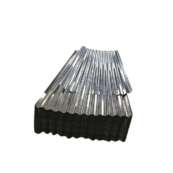 Bwg34 Galvanized Corrugated Steel Step Tiles Roofing Material Roofing Sheet