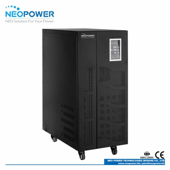20kVA Three Phase Online UPS with LCD Display