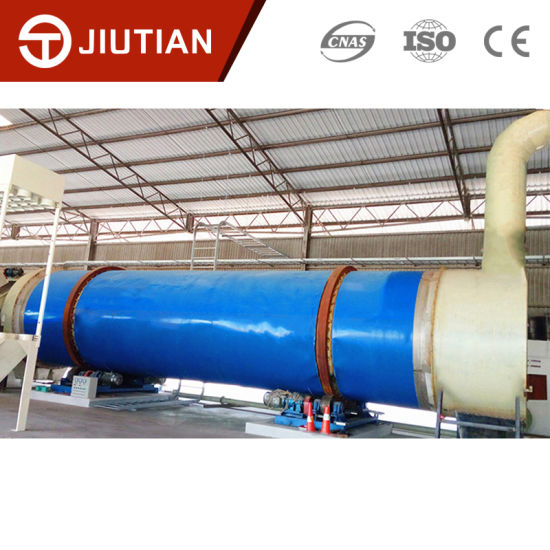 Environmental Fermented Soybean Meal Food Rotary Drum Dryer Drying Equipment