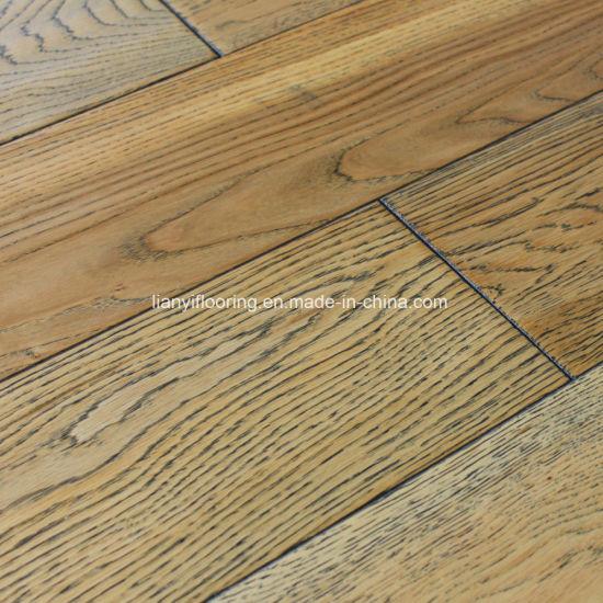 China Oak Engineered Wood Flooring Solid Hardwood Flooring Oak