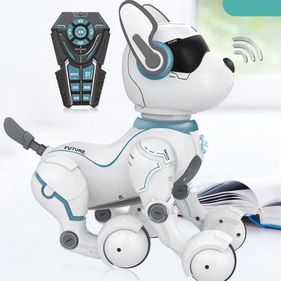 High Level Voice Control Speech Robot Dog Animal Robot Toys Full Function  Lifelike Robotic Dog Puggy Toy