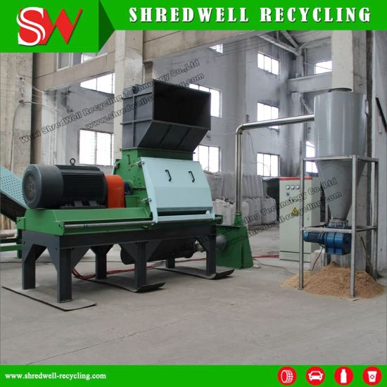 New Waste Wood Crusher Machine with 160kw Siemens Motor for Scrap Wood Recycling pictures & photos