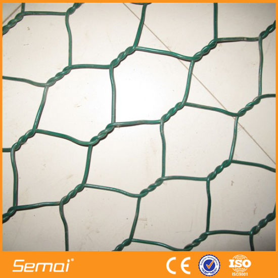 High Quality 2X1X1m PVC Coated Galvanized Gabion Basket pictures & photos