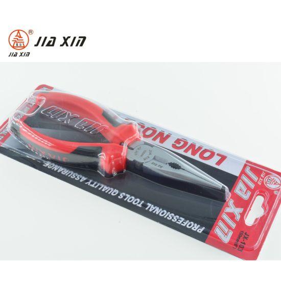 Fine Polished Classic Handle Multi-Use Long Nose Plier, Nipper Plier