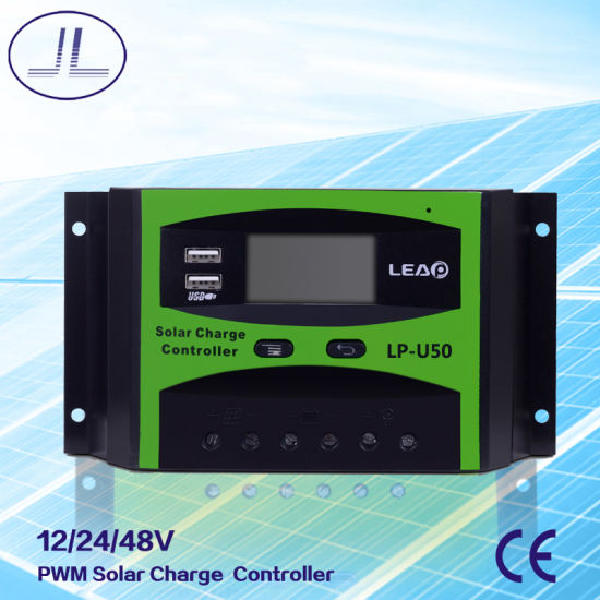 Lp-U50 PWM Intelligent Solar Charge Controller pictures & photos