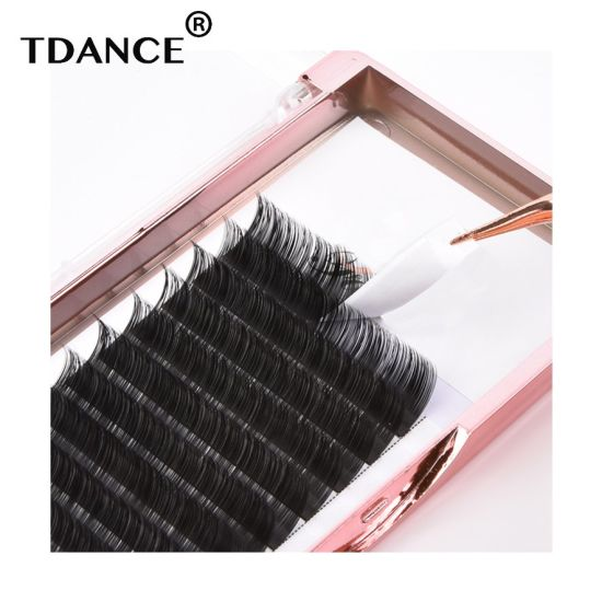 dbdaba65819 Wholesale Korea PBT Lash Extensions Mink Lashes Eyelashes Russian Volum  Lashes pictures & photos