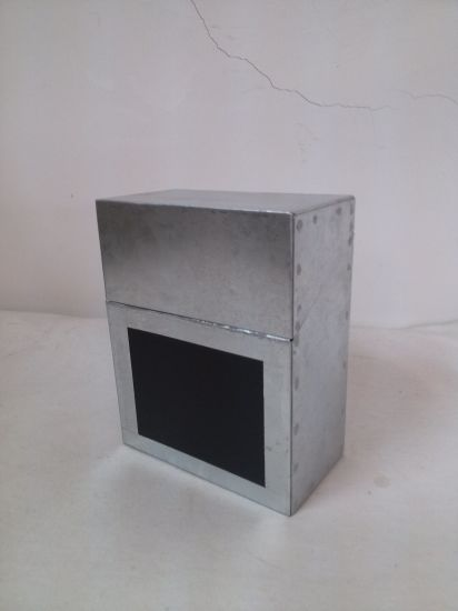 Galvanized Storage Tin Storage Box