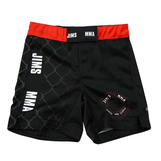OEM Custom Men's Training Sport Pants Wholesale Thai Quality Shorts MMA Gear Pants
