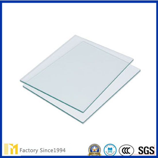 Clear Sheet Glass Used for Photo Frame and Clock Cover