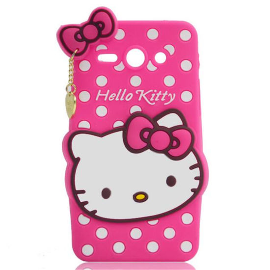 Customized Eco-Friendly Silicone Mobile Phone Cover pictures & photos