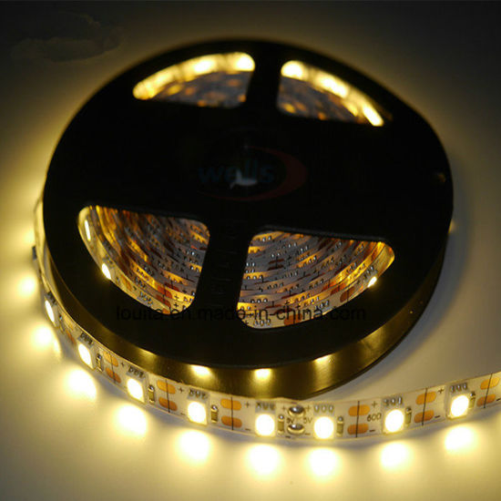 Warm White SMD 5050 60LEDs/M LED Strip pictures & photos