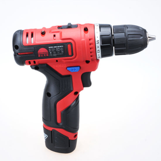 Power Tools Lithium Battery Cordless Drill (GBK2-66108TS) pictures & photos