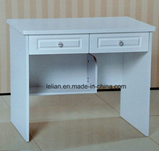 Simple Design Office Table Desktop Computer Desk with Cabinet and Drawers pictures & photos