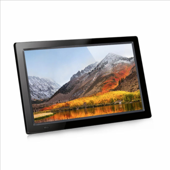 13 Inch IPS Full Viewing Angle High Resolution 1920X1080 Play Family Picture Play Enterprise Video Digital Photo Frame 13 Inch