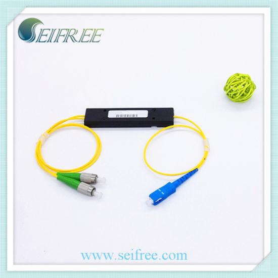 100g 0 8nm Itu 40 (1545 32nm) DWDM Fiber Optic Multiplexer