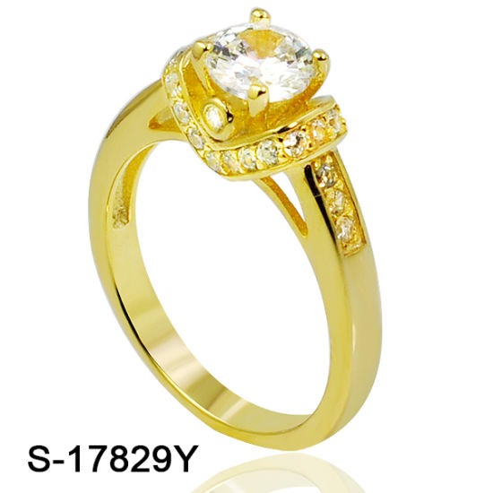 4a4ad0a08 Fashion Oxidised 925 Sterling Silver Jewellery Cubic Zirconia Wedding Ring  for Girl pictures & photos