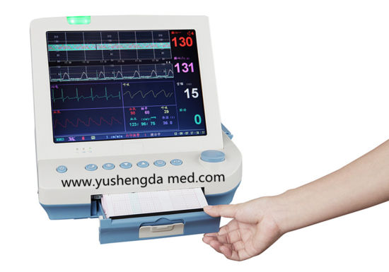 Hot Sale High Qualified Diagnostic Pregnant Fetal Heart Patient Monitor pictures & photos