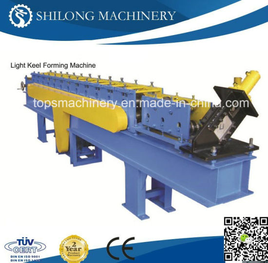 CE Approved Closed Top Metal Floor Deck Roll Forming Machine pictures & photos
