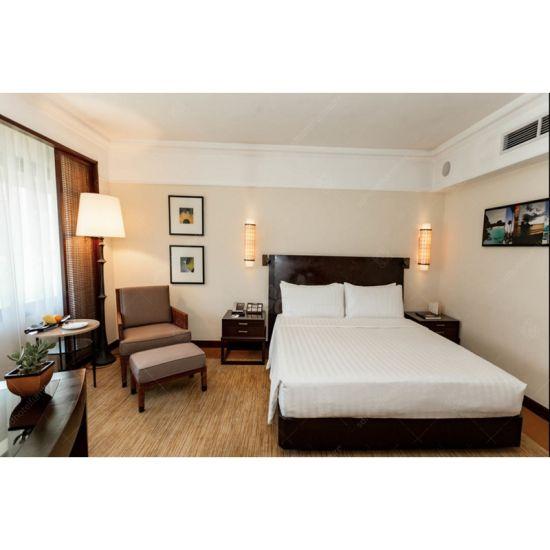 Modern Design Solid Wood Luxury Hotel Furniture Bedroom Set Factory Direct S In Stan