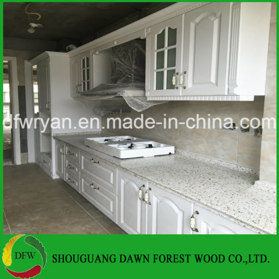 China PVC Kitchen Cabinet Designs From Dawn Forest Wood Kitchen ...