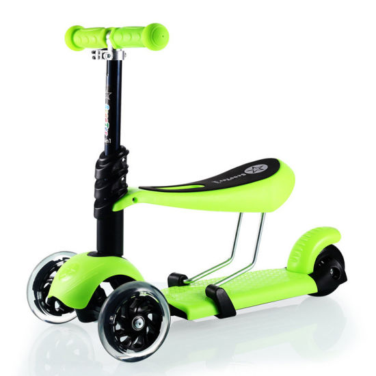 Wholesale New Model 3 in 1 Kids Scooter, Ce Approved 3 Wheel Child Scooter