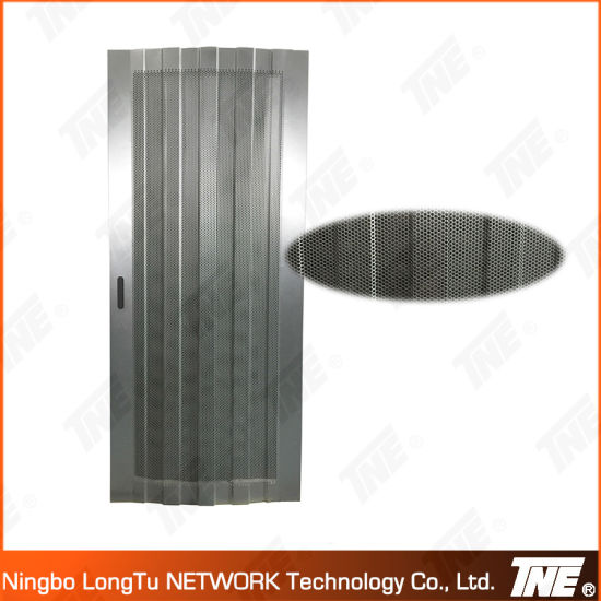 Arc Mesh (Perforated Vented) Door For Network Cabinet