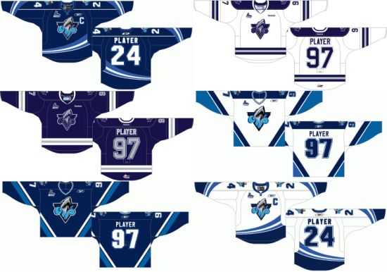 30c2aa434d9 Customized Quebec Major Jr Hockey League Rimouski Oceanic Hockey Jersey