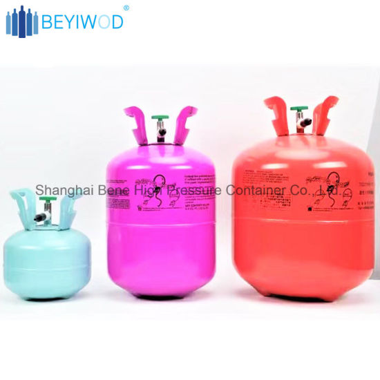 Helium Gas Bottle for Balloon Use