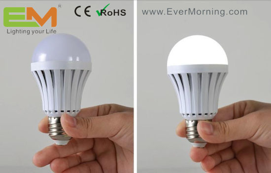 China 7w E27 Rechargeable Magic Led Intelligent Bulb Light China Led Bulb Intelligent Bulb