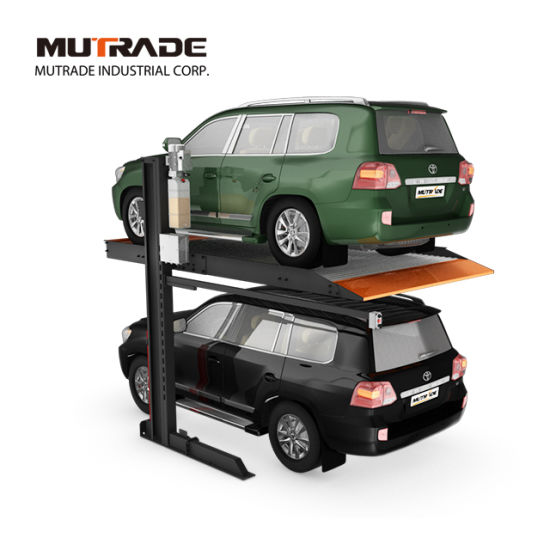 High Quality Two Post Hydraulic Car Lift Parking System Machine