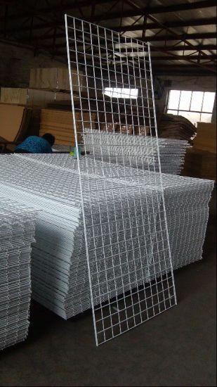 Wholesale Price Display Shelf Metal Grid Panel/Wire Wall Panel