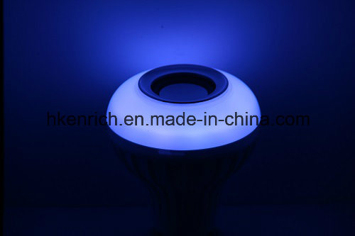 E27 Base Smart Bluetooth Speaker Fantastic Music LED Lamp with RGBW LED Lights 12W pictures & photos