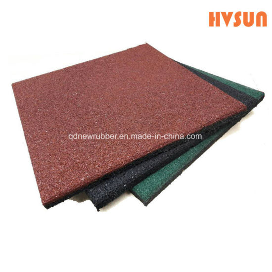 Good Quality Custom Anti Slip Rubber Door Mat Waterproof And Shockproof  Safety Rubber Tiles